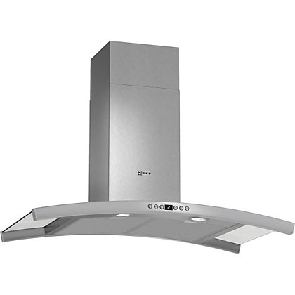 Image for Neff D89DK62N0B Chimney Hood - 90cm - Stainless Steel from StoreName