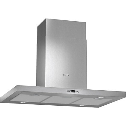 Image for Neff I79SH52N0B Box Ceiling Hood - Stainless Steel - 90cm Wide from StoreName