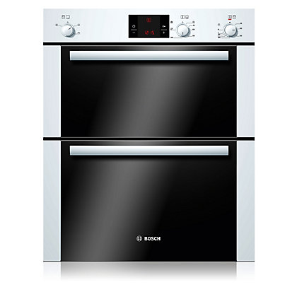 Image for Bosch HBN13B221B Double Oven  - White from StoreName