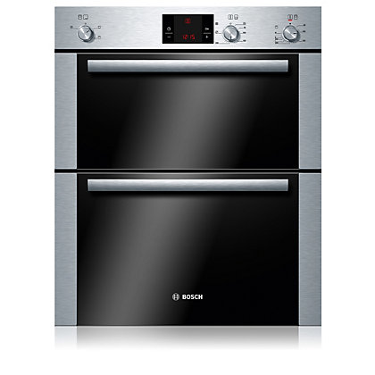 Image for Bosch HBN13B251B Built-in Double Oven - Stainless Steel from StoreName