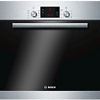 Bosch HBA63B150B Single Pyrolytic Oven - Stainless Steel