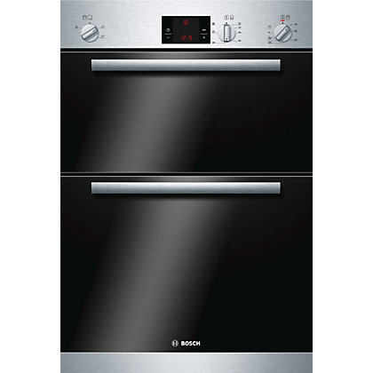 Image for Bosch HBM13B151B Built-in Multifunction Oven - Stainless Steel from StoreName
