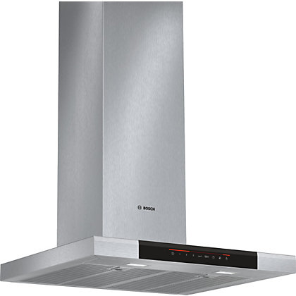 Image for Bosch DWB068J50B Flat Chimney Hood - 60cm - Brushed Steel from StoreName