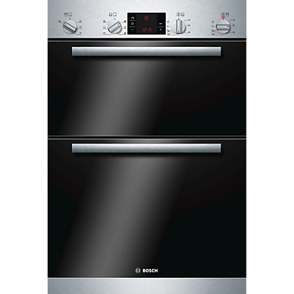 Image for Bosch HBM43B150B Built-in Double Oven from StoreName