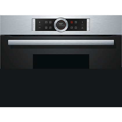 Image for Bosch CDG634BS1 Steam Oven - Brushed Steel from StoreName