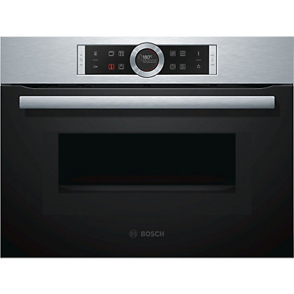 Image for Bosch CMG633BS1B Combination Microwave Oven - Brushed Steel from StoreName