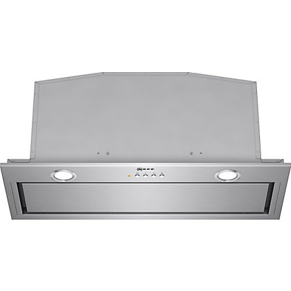 Image for Neff D57MH56N0B Integrated Hood - 70cm - Stainless Steel from StoreName
