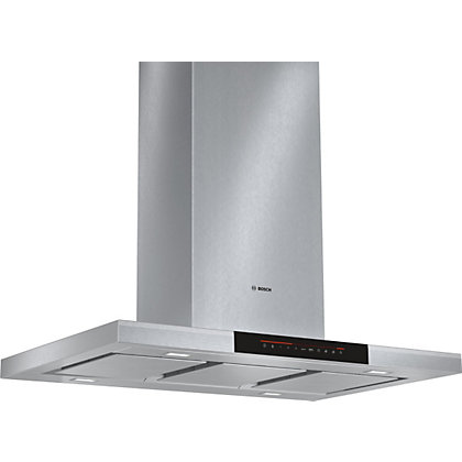 Image for Bosch DIB091K50B Box Island Chimney Hood - 90cm - Stainless Steel from StoreName