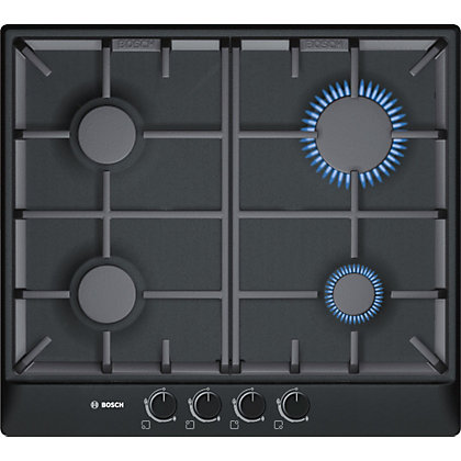 Image for Bosch PCP616B90E Gas Hob - Black from StoreName