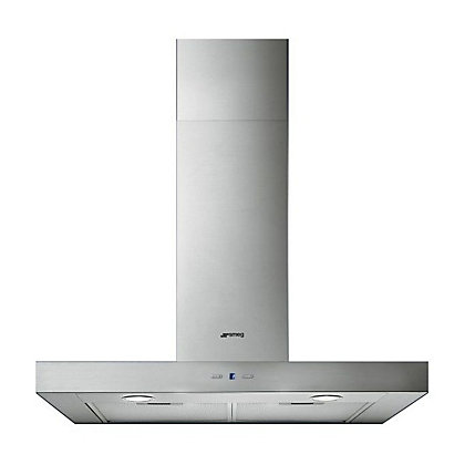 Image for Smeg KF70XE Stainless Steel T-Shape Chimney Hood - 70cm from StoreName