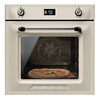 Smeg SF6922PPZE Cream Multi Function Single Oven