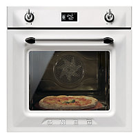 Smeg SF6922BPZE White Multi Function Single Oven