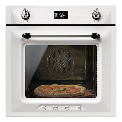 Image for Smeg SF6922BPZE White Multi Function Single Oven from StoreName