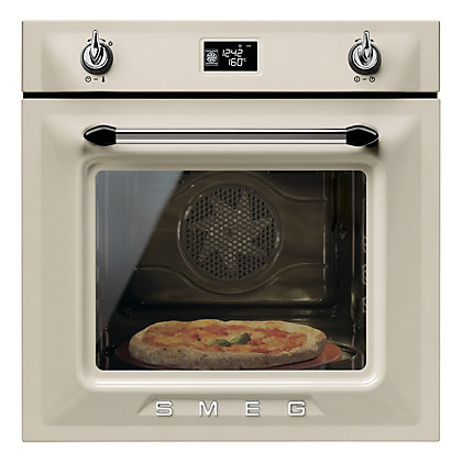Image for Smeg SFP6925PPZE Pyrolytic Single Oven - Cream from StoreName