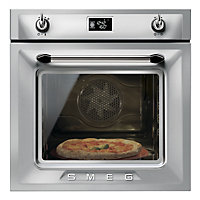 Smeg SFP6925XPZE Pyrolytic Single Oven - Stainless Steel