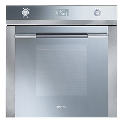 Image for Smeg SFP125E Linea Pyrolitic Single Oven - Stainless Steel from StoreName