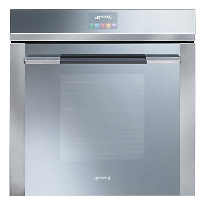 Image for Smeg SFP140E Linea Touch Control Pyrolitic Single Oven - Stainless Steel from StoreName