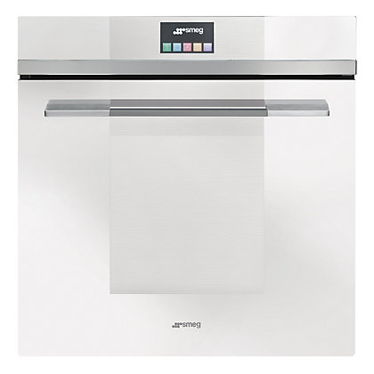 Image for Smeg SFP140BE Linea Touch Control Pyrolitic Single Oven - White from StoreName