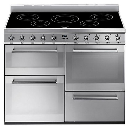 Image for Smeg SYD4110I 4 Cavity Range Cooker - Stainless Steel from StoreName