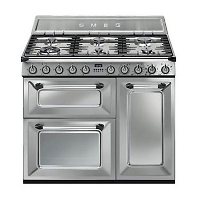 Image for Smeg TR93X Victoria 3 Cavity Dual Fuel Range Cooker - Stainless Steel from StoreName