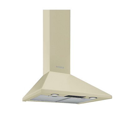 Image for Smeg KSED65PE Cream Chimney Cooker Hood - 60cm from StoreName