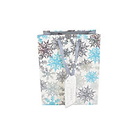 Ice Snowflake Gift Bag Large