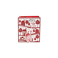 Christmas House Gift Bag Medium