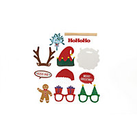 Fun 12 Piece Christmas Photo Props Set