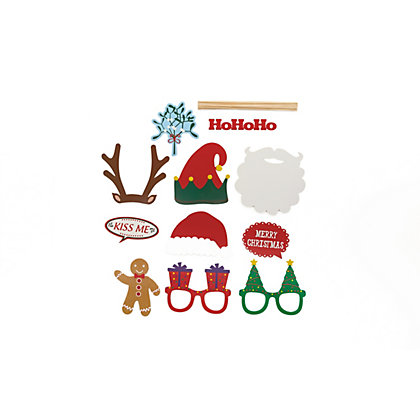 Image for 12pk Christmas Photo Props Set from StoreName