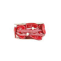 Homespun Hearts Christmas Ribbon