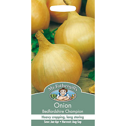 Image for Onion Bedfordshire Champion (Allium Cepa) Bulbs from StoreName