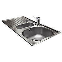 Carron Phoenix 1.5 Bowl Sink and Tap Package