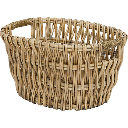 Image for Oval Willow Log Basket from StoreName