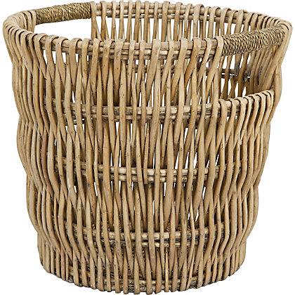 Image for Round Willow Log Basket from StoreName