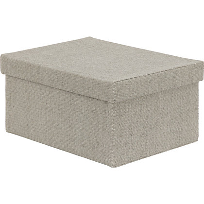 Image for Medium Grey Storage Box from StoreName