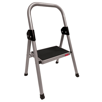 Image for Faulkner Steel 1 Step Stool from StoreName