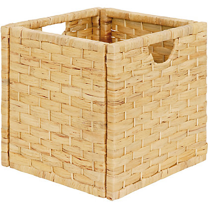 Image for Natural Water Hyacinth Storage Cube from StoreName