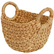 Natural Small Oval Basket