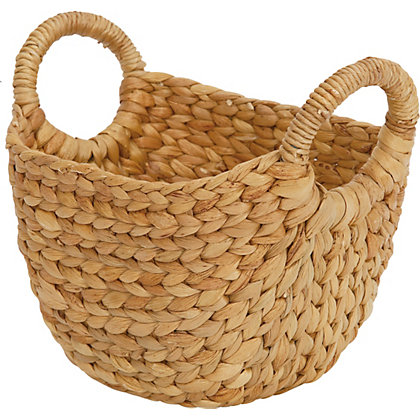 Image for Natural Small Oval Basket from StoreName