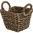 Brown Small Square Basket