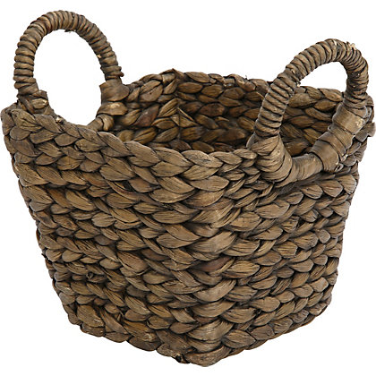 Image for Brown Small Square Basket from StoreName