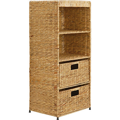 Image for Natural Water Hyacinth Storage Tower from StoreName