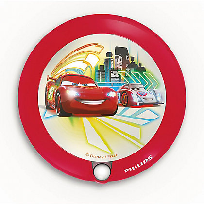 Image for Philips Disney Cars LED Night Light With Sensor from StoreName