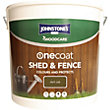 Johnstones OneCoat Shed and Fence Woodcare Dark Oak - 5L