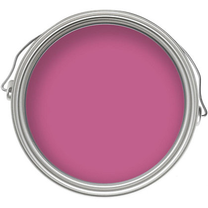Image for Crown Bathroom Fuchsia Fizz Mid Sheen Emulsion Paint -  1L from StoreName