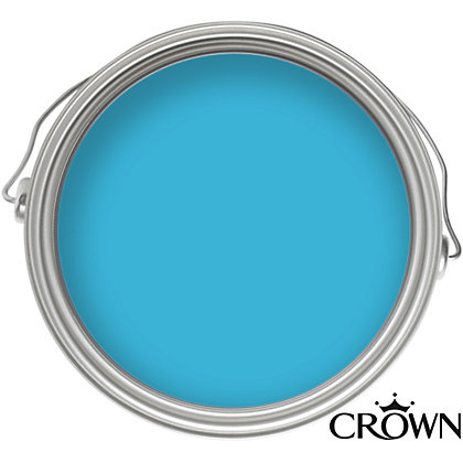 Image for Crown Bathroom Splashing Around Mid Sheen Emulsion Paint -  40ml from StoreName