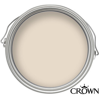 Image for Crown Kitchen Almond Cream Matt Emulsion Paint -  2.5L from StoreName