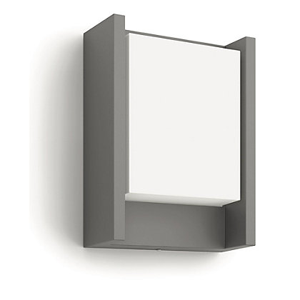Image for Philips Arbour LED Wall Lantern - Anthracite from StoreName