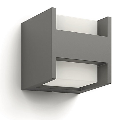 Image for Philips Arbour LED Wall Lantern with PIR - Anthracite from StoreName