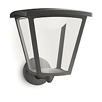 Philips Cottage Wall Lantern - Black